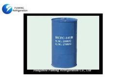 Dichlorofluoroethane Hcfc Refrigerant 141b gas with 250kg Steel therefore