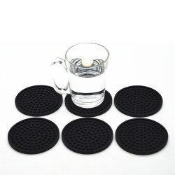 Xícara de café de silício Montanha Russa personalizado definido, Montanha Russa de borracha resistente ao coração, Montanha Russa de Silicone potável grossista para beber