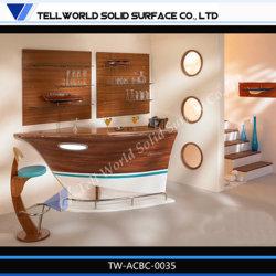 Современный элегантный винный бар просто дизайн Бар кухонном столе (TW - MACT-019)