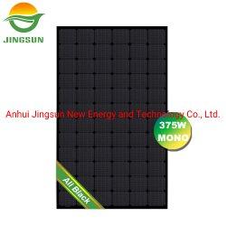 Ein Grad Jingsun 72 MonoSonnenkollektor der Zellen-375W PV aller schwarze Solarzellen-Baugruppen-Panel-Preis
