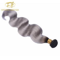 Оптовая торговля бразильского/Индийского Virgin/Сен Реми человеческого волоса с Cuticle Weft совмещены