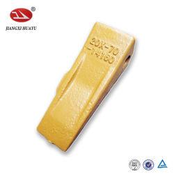 ماكينات التشييد حفار احتياطي قطع مصبوبة من الفولاذ جرافة الأسنان PC100