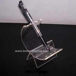 En acrylique transparent Porte-plume Clip (BTR-H1015)
