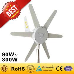 مولد رياح بقوة 200 واط من الصين (مولد طاقة رياح بقوة 90 واط-300 واط) طاقة الرياح نظام التوربينات طاقة الرياح ميني طاقة الرياح في Streetlight استخدم