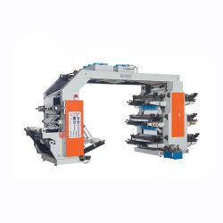 En 6 colores de alta calidad máquina de impresión Flexo en México la nueva película de plástico de 2 colores de impresión flexográfica impresoras Flexo