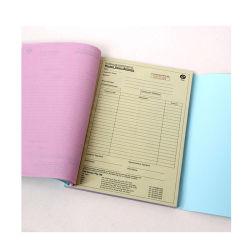 Zoll personifizierte den doppelten Empfang der Rechnungs-A4/A5 für Lieferschein-Auftragsbuch-Auflage