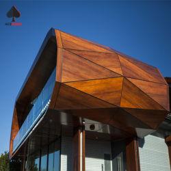 耐火性の装飾の建築材料アルミニウムACPシートの木製の穀物のアルミニウム合成のパネル