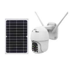 Macchina fotografica impermeabile esterna solare del IP di obbligazione del CCTV dell'europeo 4G/Wireless PTZ di Verto 1080P 2MP PIR