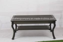 La fonte des jambes, table à café de meubles en aluminium moulé