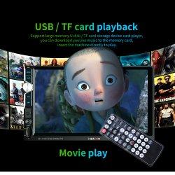 7 Zoll 2 LÄRM Zusatz FM Radio-MP3 MP4 Spieler des androides Auto-video Spieler MP5 Bluetooth Screen-HD der Digitalanzeigen-der Musik-MP5