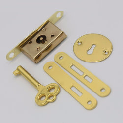 De kleine Reeks van de Sleutel van het Slot van het Tapgat van het Slot van de Garderobe van de Lade van het Sigarenkistje van de Juwelen van Juwelen Houten Volledige