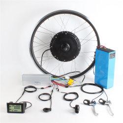 強い力48V 60V 72V 2000W 1500Wの電気バイクの電池が付いているブラシレスハブモーターEbikeの変換キット
