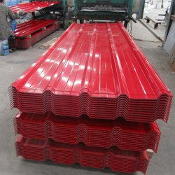저렴한 가격, 최고의 가격, 컬러 스틸 골판형 골반화 곡선 지붕재 타일 판금 패널 금속 루프
