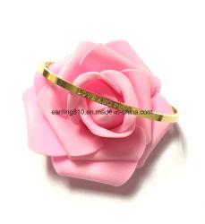 """""""Любовь и свободной"""" женщин манжеты Bangle высокой полированным украшения браслет"""