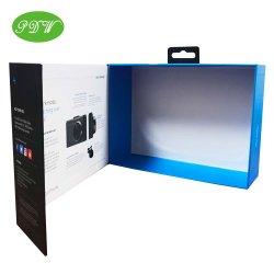 Fabricado na China em forma de livro personalizado Pacote câmara magnética Caixa de oferta