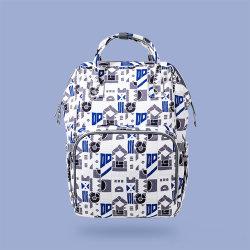 Custom водонепроницаемый большой потенциал Многофункциональный организатор Unicorn рюкзак Diaper Bag, присмотр за ребенком мама Diaper Bag для поездки на открытом воздухе