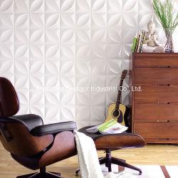 Art 3D Painel de parede forro de PVC de revestimento de azulejos de parede de PVC Moderno
