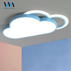 La habitación del bebé lindo Nube de doble LED estilo de iluminación de techo