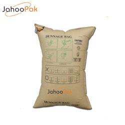 Du papier kraft de l'air gonflable le bois de fardage sac pour le conteneur