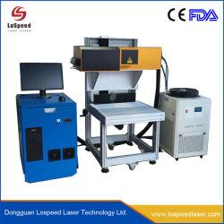 Qualität Hispeed CO2 Laser-Markierungs-Maschine hölzerne Lether Plastikgravierfräsmaschine