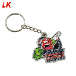 Geschenk Handwerk Custom Cute Anime Metall Schlüsselanhänger Schlüsselanhänger für Schlüssel