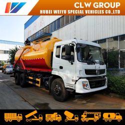 Dongfeng 6X4 20000 литров сточных вод погрузчик всасывания санитарии для очистки сточных вод погрузчика