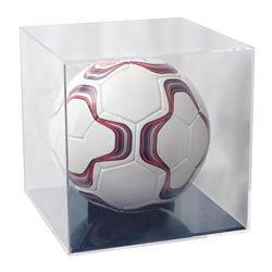 حقيبة عرض Clear Acrylic Plastic Desktop Golf Soccer Ball