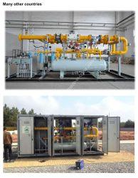 CNG druckreduzierendes Gerät Pru Erdgas-Druckregelungsschienen-Schrank-Druckregelventil