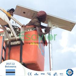 IP67 195lm/W 40W luz de rua de LED do painel solar (TODOS EM UMA) com 5 anos de garantia