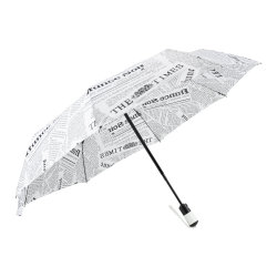 La conception de journal automatique de 3 parasol de pliage parapluie pour faciliter le transport