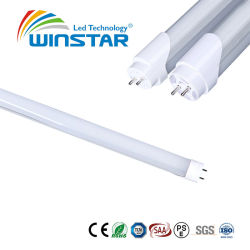 Cer zugelassenes hohes leuchtendes Gefäß 1.2m 4FT 6000-6500K der Leistungsfähigkeits-LED T8 kühlen weißes 160lm/W ab