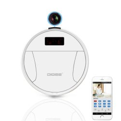 Industriy saubere Schleife-Roboter-Staubsauger WiFi Kamera