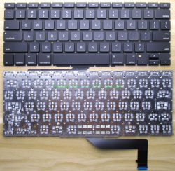 Het Toetsenbord van MacBook voor MB PRORetina 15.4 Duim Beschikbare A1398, Us/UK/Spanish/German/French en Andere Lay-out