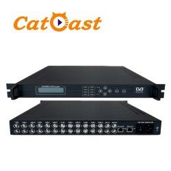 8 de Codeur van kanalen BR mpeg-2 IP met IP Output