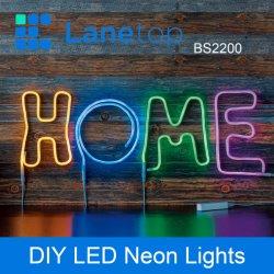 USB и зарядки аккумулятора индикатор рекламы гибкий неон полосы света