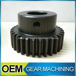 Engranaje de OEM de aleación de aluminio mecanizado de acero inoxidable de plástico