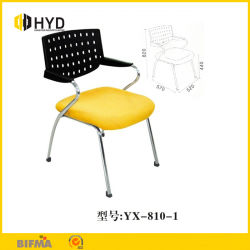 Étude de l'adulte d'empilage Table Chaise conférence Chaises avec comité de rédaction président étudiant de châssis en métal