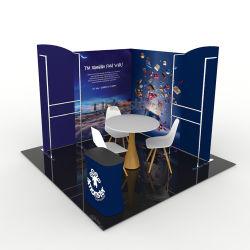 El equipo de exhibición portátil impreso personalizado Feria stand de exhibición portátil