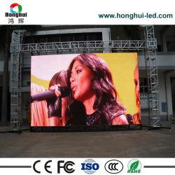 Colore completo esterno P4.81 parete locativa della visualizzazione di LED da 3840 hertz video per fare pubblicità allo schermo (P2.976/P3.91)