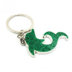 Zilver Geplateerde schittert Groen van de Tegenhanger van de Zak In het groot Dierlijke de Mini Zeer belangrijke Ketting van de Dolfijn