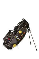 Saco de Golfe durável PU Leather Golf Saco de suporte