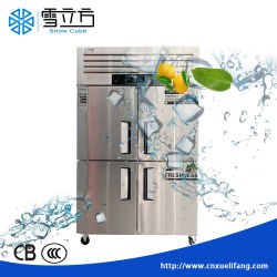 Cuisine Workbench- Équipement de réfrigération de l'Hôtel Restaurant Workbench Réfrigérateur/congélateur acier inoxydable de la poitrine