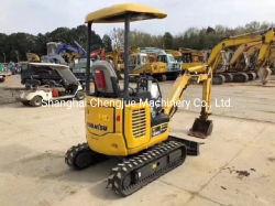 安い価格の元のJanpanの掘削機の使用された小松PC18の掘削機の小型2ton掘削機