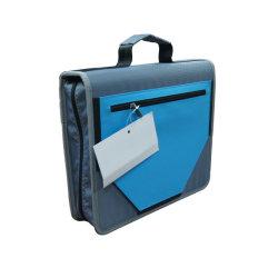 """Custom 3 """" Zipper Binder A4 liants d'affaires de fermeture à glissière de l'école Binder"""