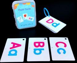 I giocattoli educativi in anticipo d'apprendimento inglesi su ordinazione della scheda di memoria per la scheda del gioco dei bambini scherza le schede istantanee