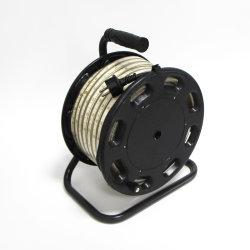 AC220V AC230V LED 스트립 비상 조명 빌딩 호텔 조명 25m 실내용 2835 180LED IP65의 광 케이블 드럼 IP44 플러그와 함께 실외 모바일 사용