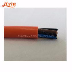 Trvvのコア4*2.5 mm2適用範囲が広いケーブルPVCケーブルの抗力チェーン・ケーブル電気ワイヤーオイル抵抗の風邪の抵抗