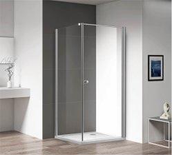 Cer bestätigte europäischen Entwurf, den quadratische schiebende Badezimmer-Dusche-Kabine mit Glas abhärten