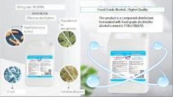 工場供給Food-Gradeバルク手のSanitizer 75%のエタノールアルコール20L/25L/1000Lはセリウムの証明書を渡した