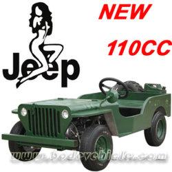 As novas engrenagens Automático 110cc Jeep (MC-424)